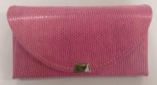画像1: リザード風ケース ピンク