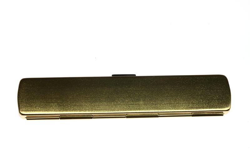 画像3: スレンダーアイズ 角型 ゴールド(ペンさし無し)