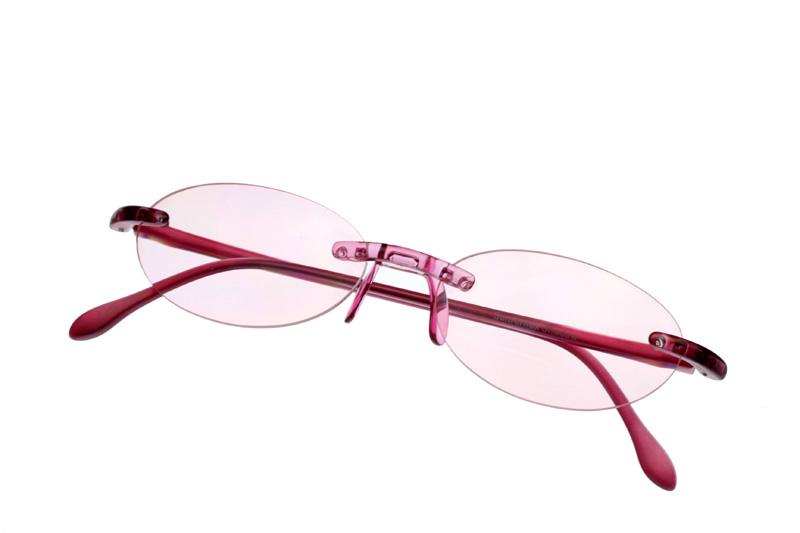 画像1: サンエアーフレックスシャドー 丸型ピンク